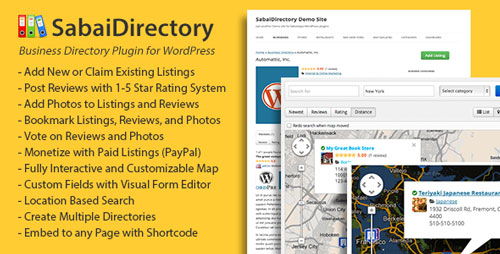 Free Download Sabai Directory V1.3.25 plugin for WordPress Plugin