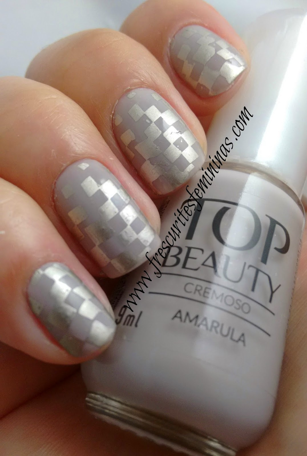 Amarula, Top Beauty, Frescurites Femininas, Carimbo, Nail Stamp