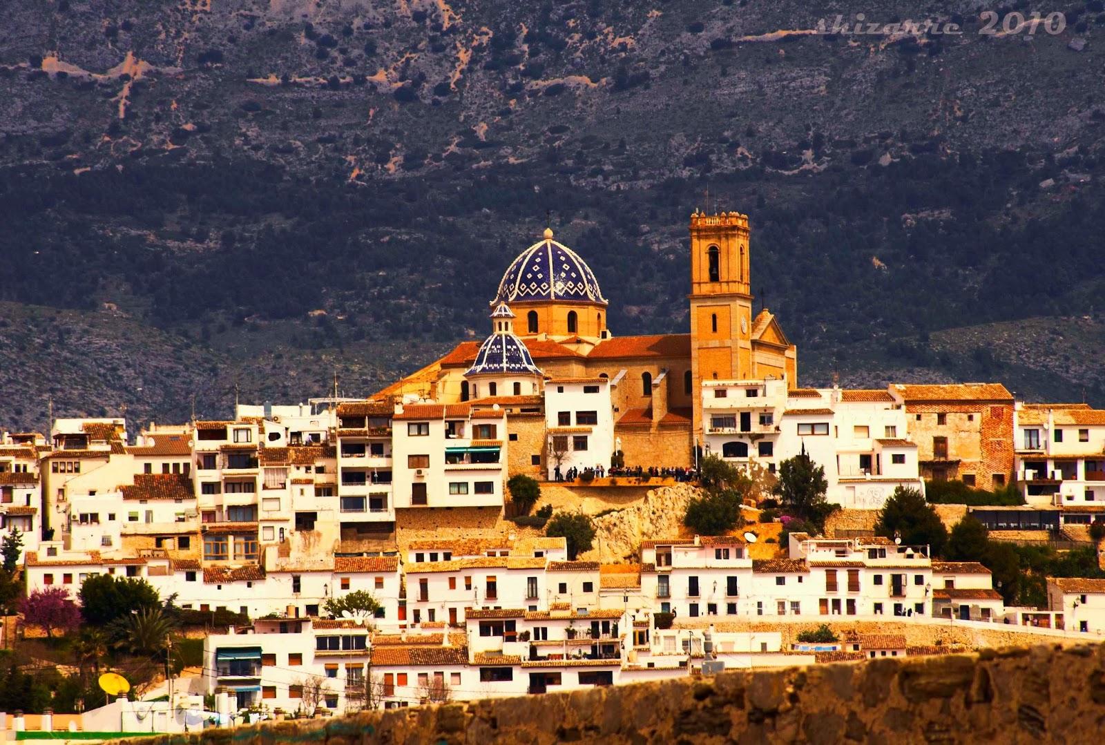 Spanje excursies altea strand en historie - Altea alicante fotos ...