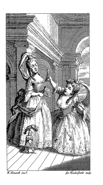 Hogarth's frontispiece to Fielding's The Tragedy of Tragedies