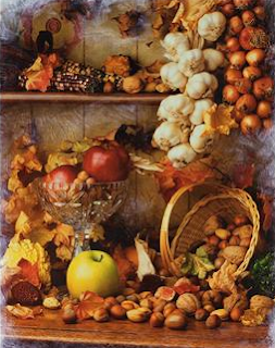 Autumn fruits & vegetables