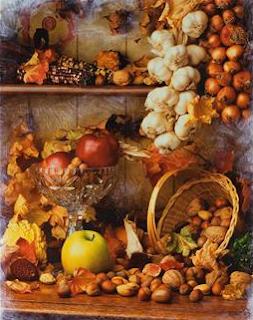 Autumn fruits & vegetables