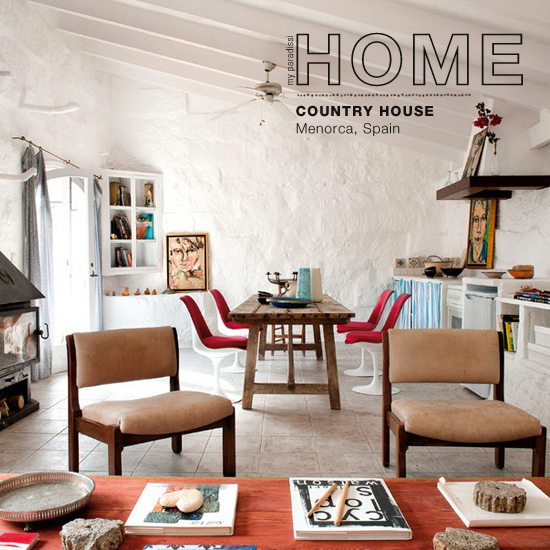 The eclectic country house of Ursula Mascaro in Menorca, Spain