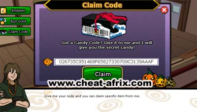 Bug Candy Code Token Ninja Saga Cheat Afrix