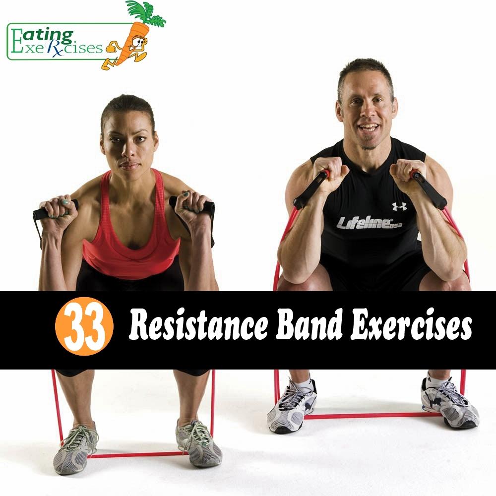 Resistance Bands Workout List: 33 Resistance Band Exercises
