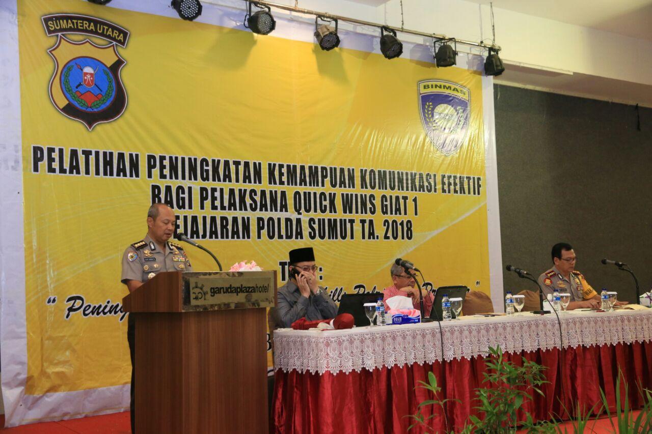Polda Sumut Adakan Pelatihan Kapasitas Life Skills yang Promoter