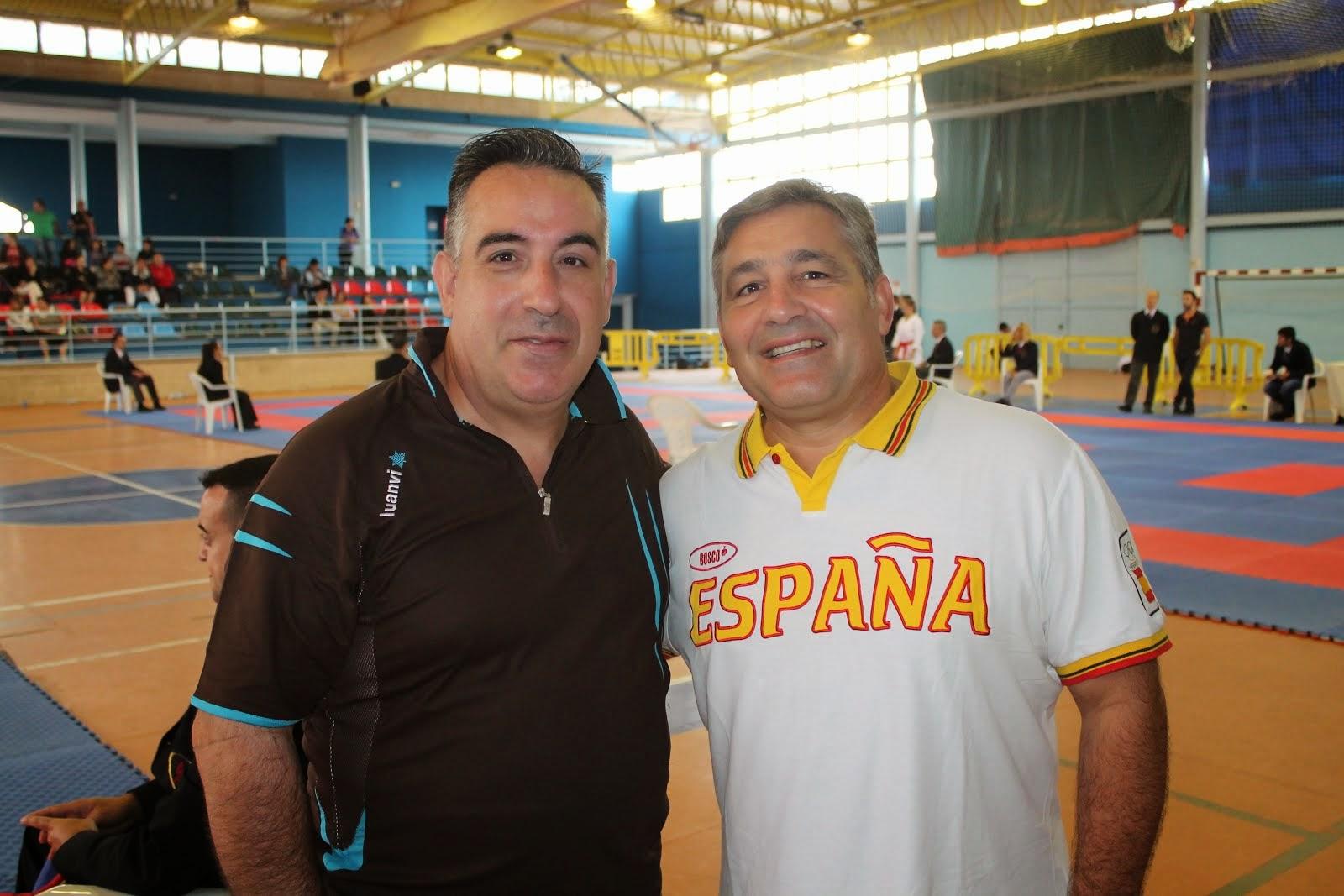 Con el seleccionador nacional
