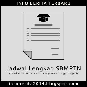 Jadwal SBMPTN