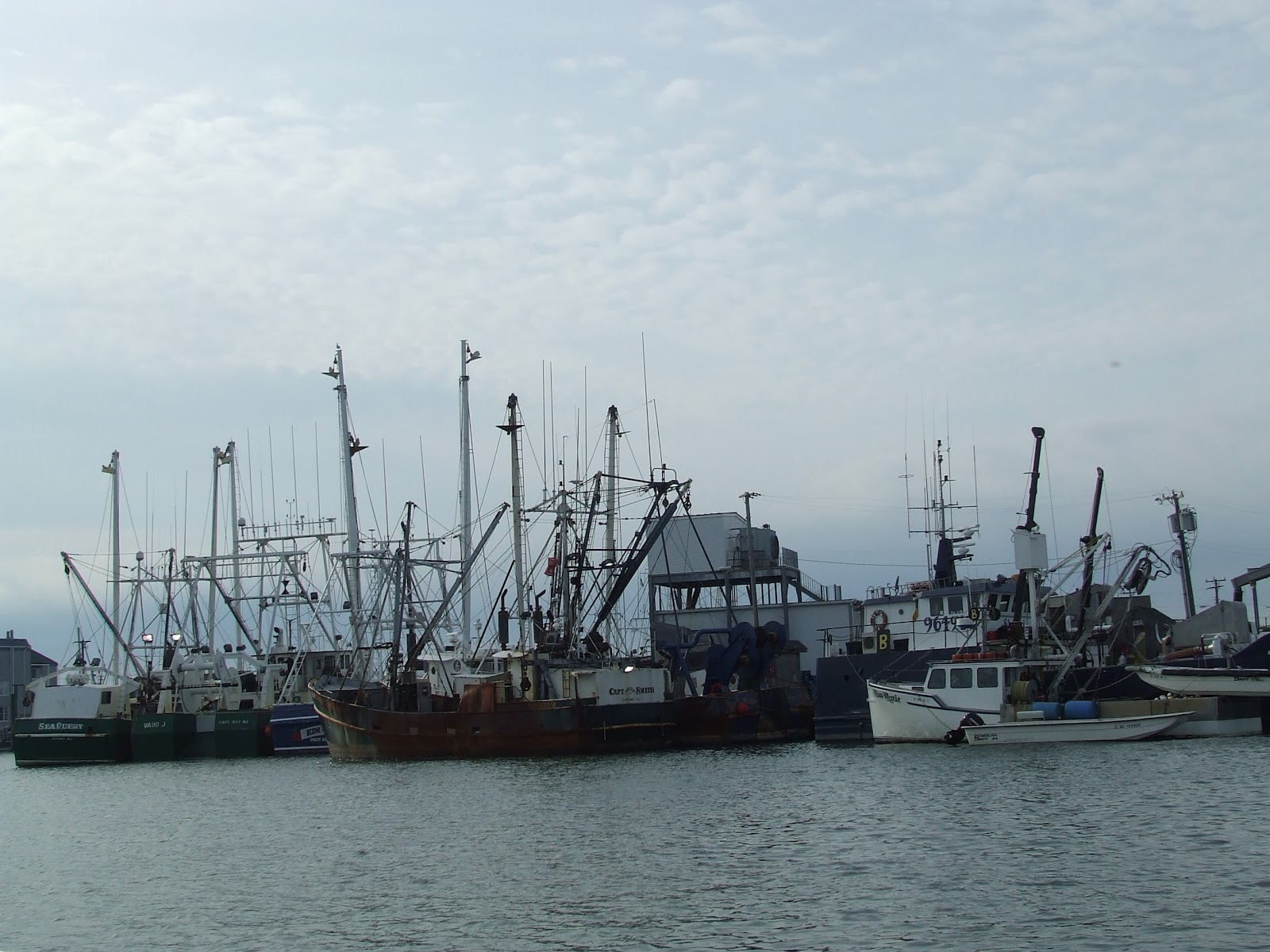 Canterbury sails by chasseur september 2012 for Atlantic city fishing