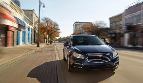 2015 Chevy Cruze Named Fleet Car of the Year