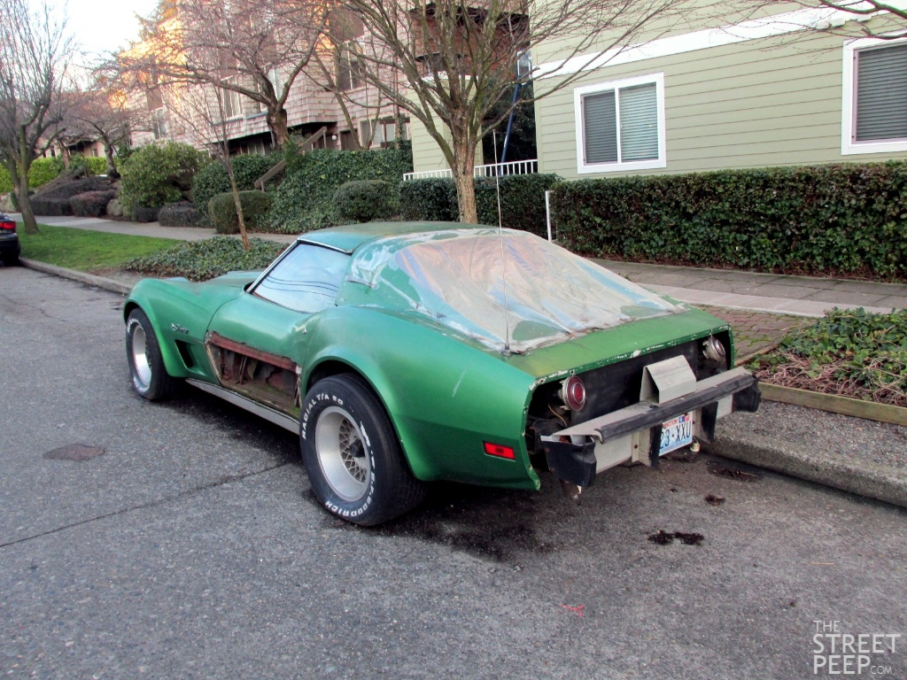 1974 chevrolet corvette: