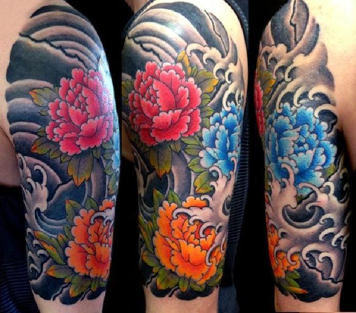 Disenos De Tatuajes De Flores Japonesas