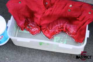 Reciclatex Cómo decolorar un vaquero de color