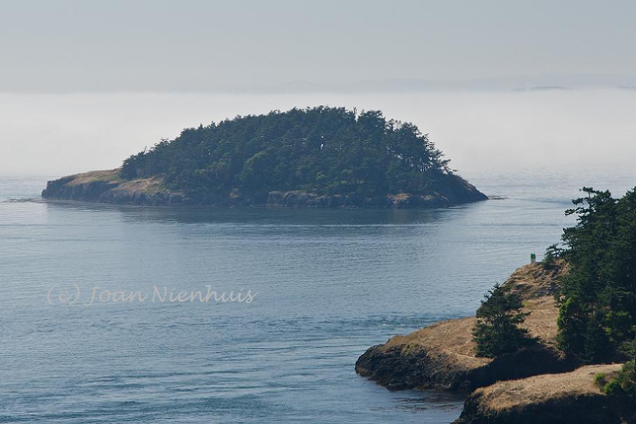 Pacific northwest photography sea of fog from goose rock for Cabine sospese di rock state park nc