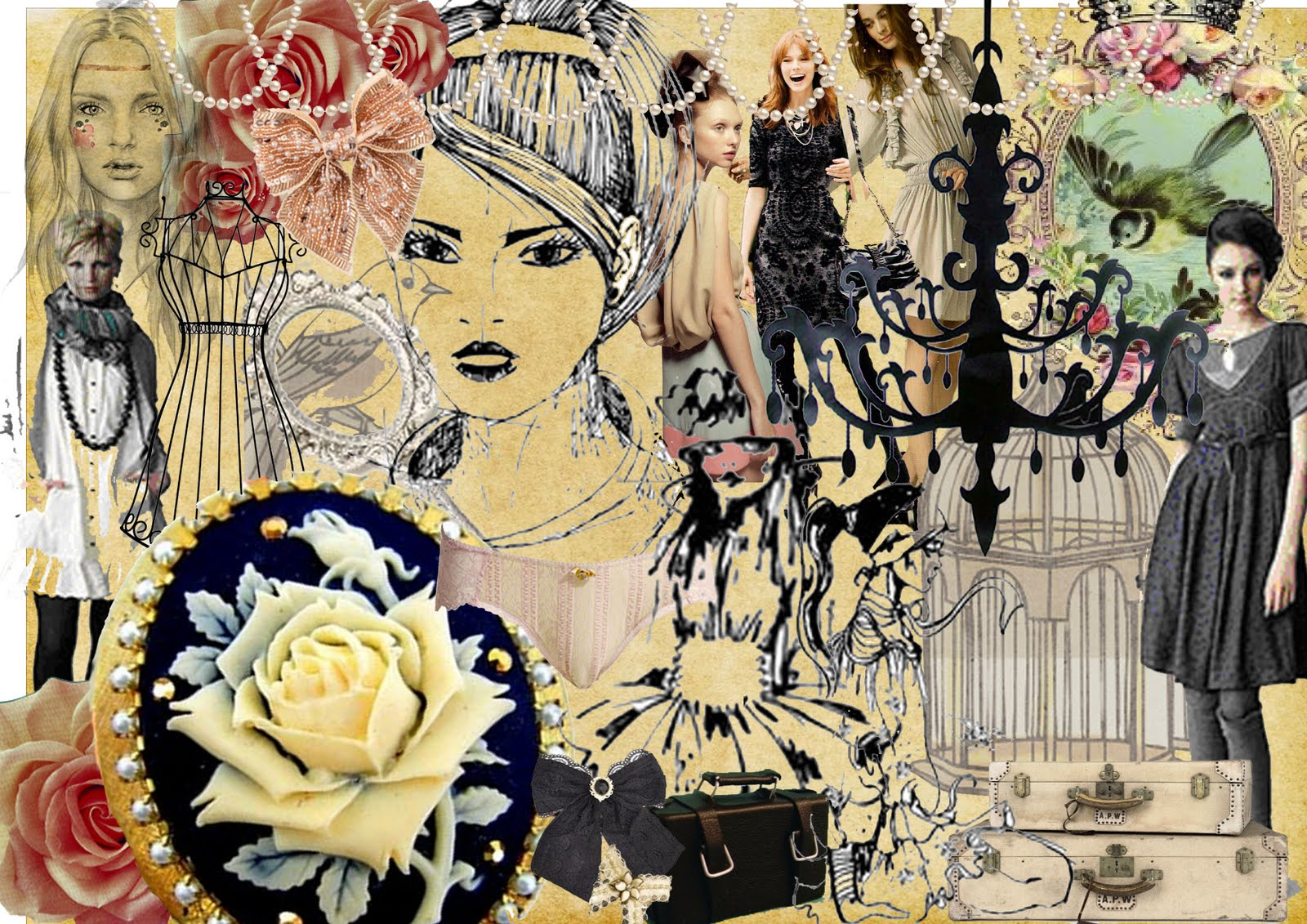 What Is Mood Board In Fashion Design