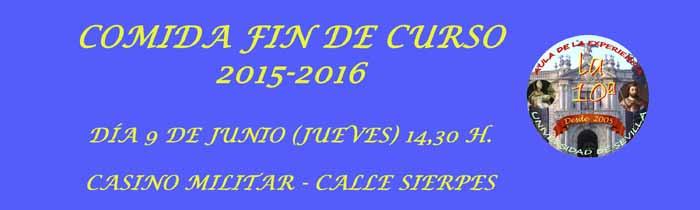 INSCRIPCION COMIDA FIN DE CURSO