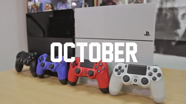 Top Games this October 2014