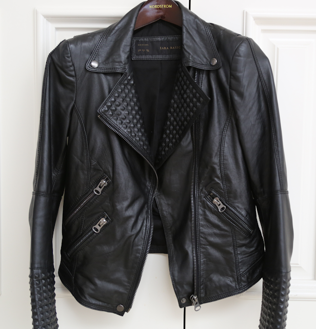 Zara, biker, jacket, with, zips, zippers, zip, stud, studs, spike, spikes, leather, authentic, real, soft, black, affordable, beautiful, genuine, genuine leather, affordable leather jacket, jacket, coat, motor, cycle, moto, motorcycle, bad, ass, badass, stylish, fashion, accessory, accessories, chic, garment, basic, basics, piece, warm, functional, style, trend, trendy, classic, good, unparalleled, value, unbeatable, beat, price, bcbg, macys, bar, iii, 3, three, faux-leather, leather, pleather, vegan, studded, jacket, alternative, rock, stage, no, without, option, options, other, choice, choices, new, newer, different, unique, affordable, value, sunglasses, sun, glass, glasses, sunnies, sunny, sunlight, prevent, tortoise, shell, gold, tort, karen, walker, super, duper, strength, tort, crazy, photography, beautiful, focus, zipper, zip, sombra, sunglasses, front, view, butter, buttery, soft, tough, worn, chic, fabulous, mouth, watering, mouth-watering, desire, desirable, very, impressive, photograph, arial, shot, picture, aerial, like, a, product, image, snap, snaps, edge, edgy, chic, luxury, luxurious, subtle, detail, details, detailing, impress, impressive, dirty, blonde, ambition, lauren, zelner, haute, couture