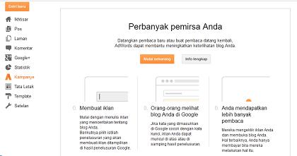 Fitur Kampanye Terbaru dari Google AdWord Untuk Blogspot-blog kang miftah