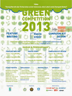 """Green Competition 2013"""" ~ INFO LOMBA 