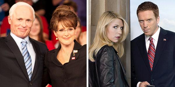 Character of Golden Globe winners: Emmy awards