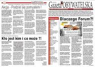PDF papierowej wersji zerowego numeru Gazety Obywatelskiej