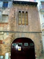La façana més ben conservada de la Casa Gausa