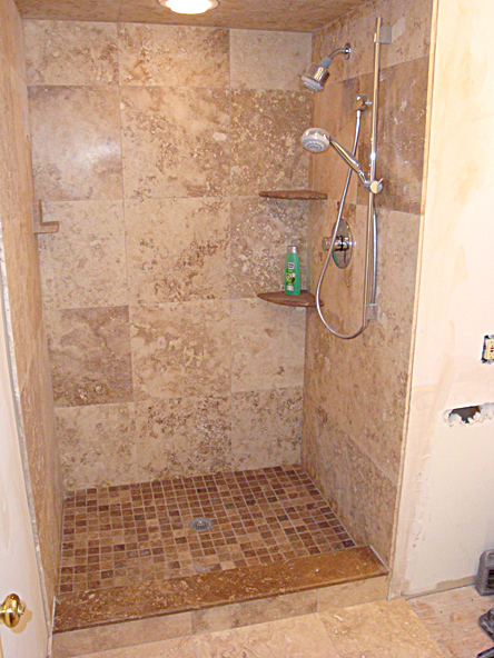 Tile Shower Pictures Ideas In 2013
