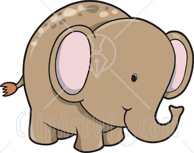 cute cartoon elephant picture baby