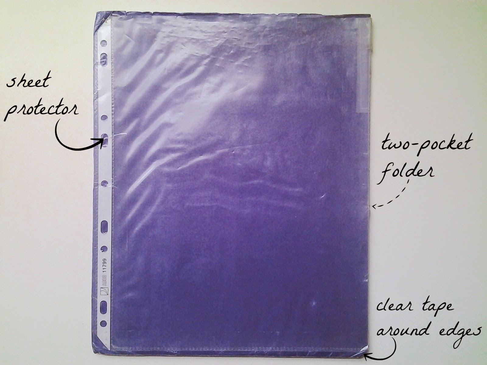 student organize folder
