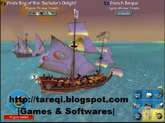 Sid Meier's Pirates! Screenshot 1