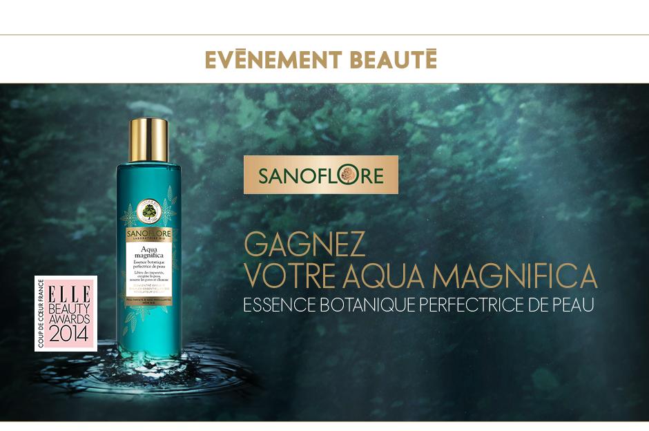 """100 soins perfecteurs de teint """"Aqua magnifica"""" Sanoflore"""