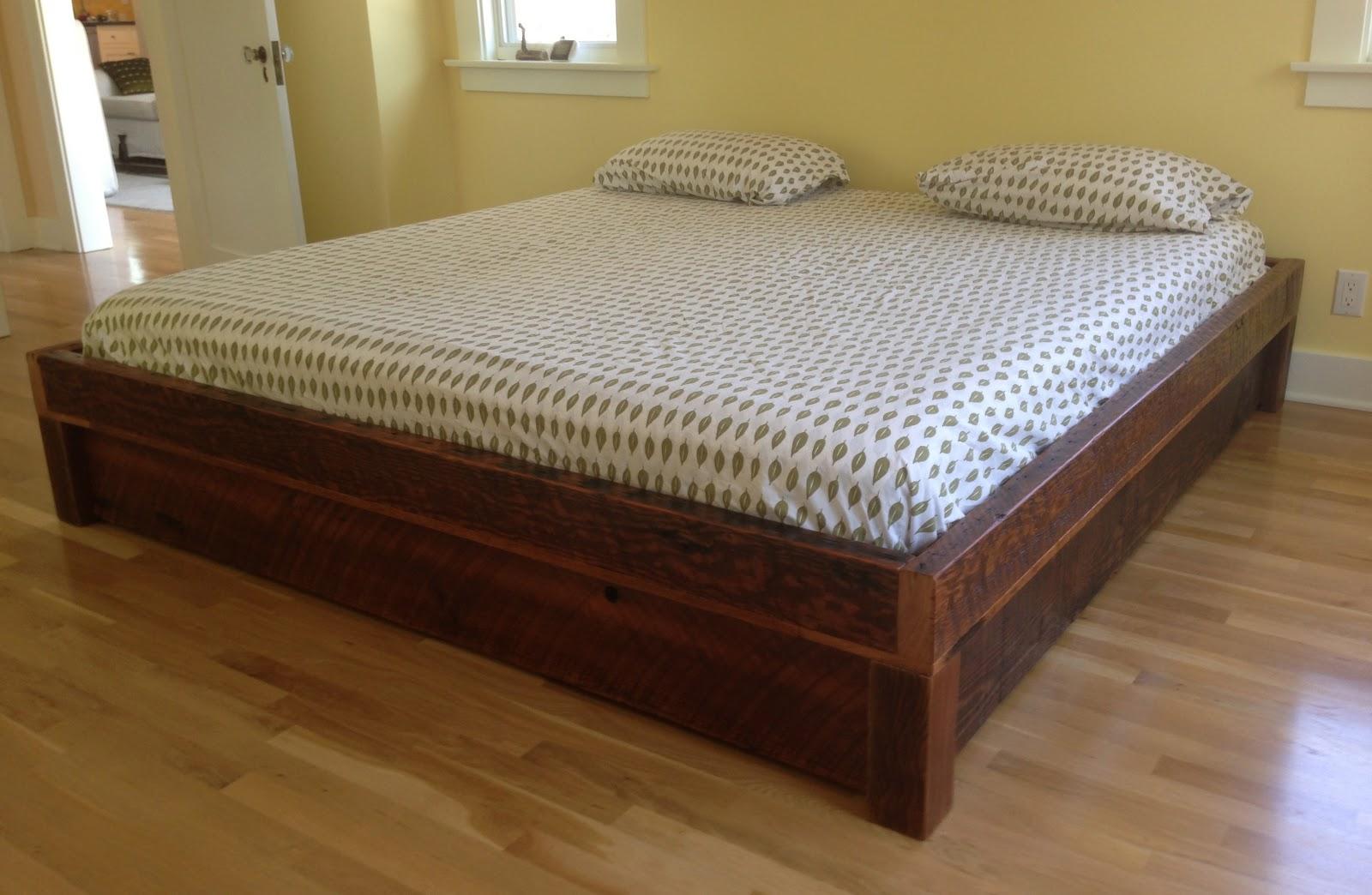 Arbor Exchange Reclaimed Wood Furniture Platform Bed W