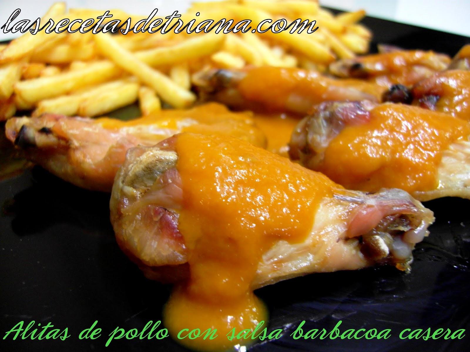Las recetas de triana alitas de pollo con salsa barbacoa for Salsa barbacoa ingredientes