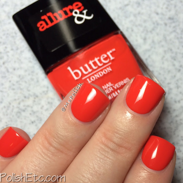 butterLONDON & Allure - Arm Candy Collection - McPolish - Statement Piece