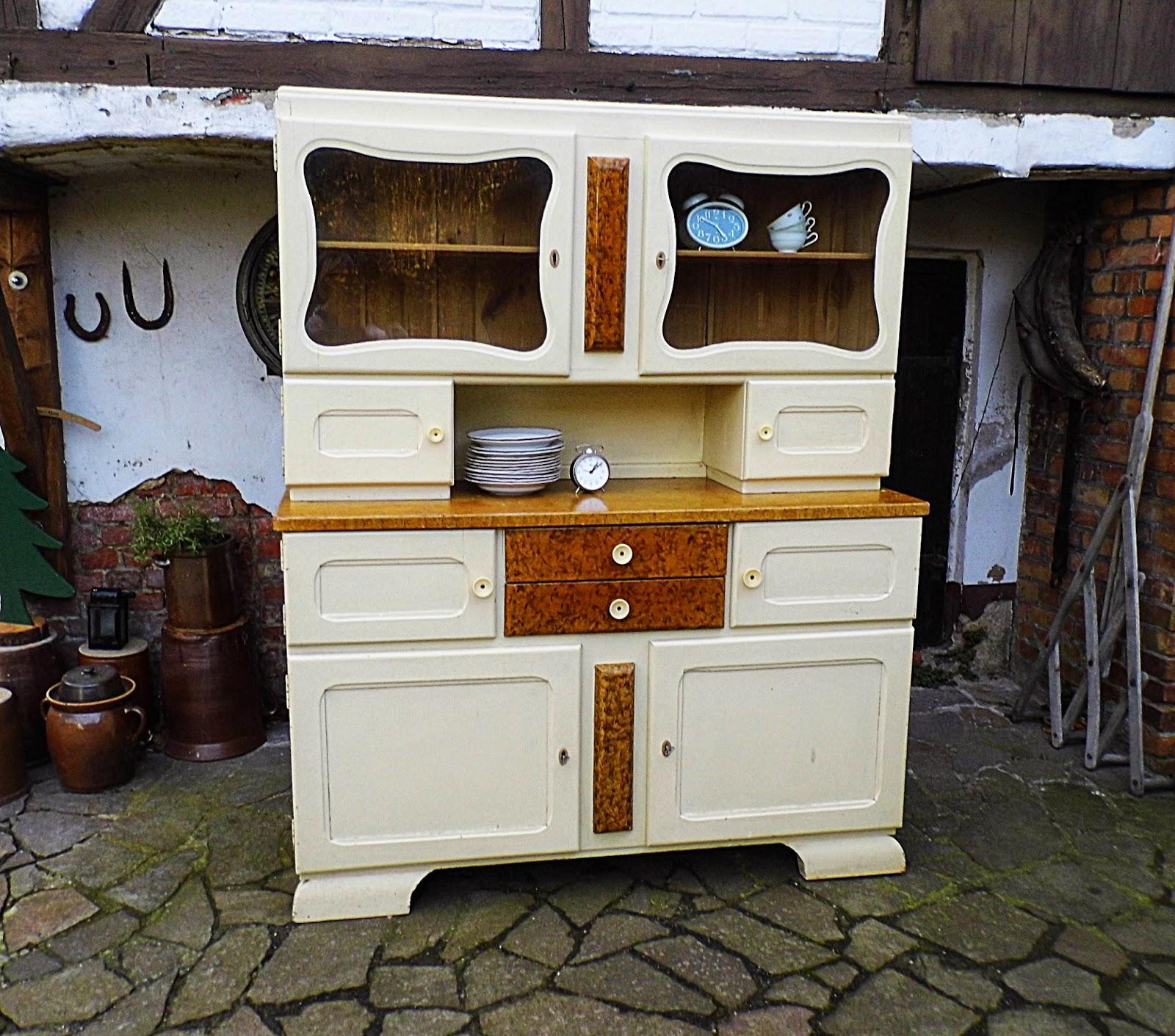 gernewieder gbr vintage k chenbuffet. Black Bedroom Furniture Sets. Home Design Ideas