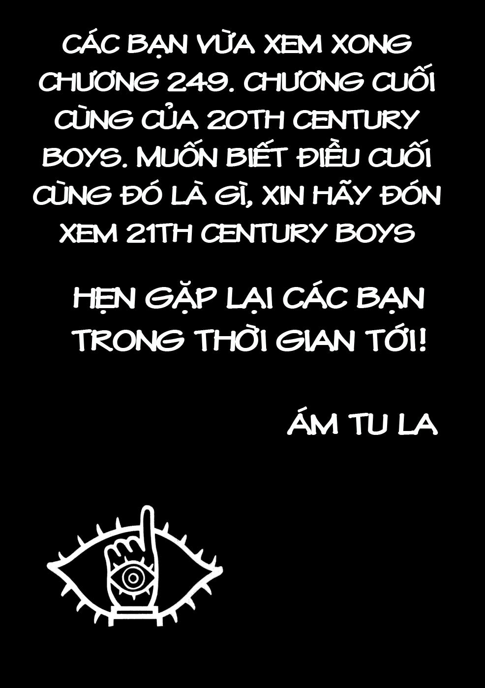 Những Chàng Trai Thế Kỉ 20 Chapter 249 - Truyenmoi.xyz