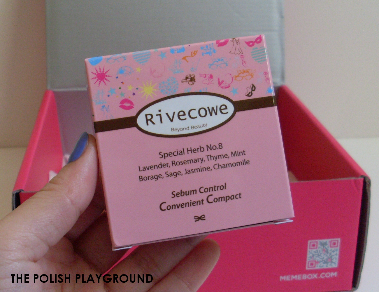 Memebox Office Essentials Unboxing - RiveCowe Sebum Control Convenient Compact