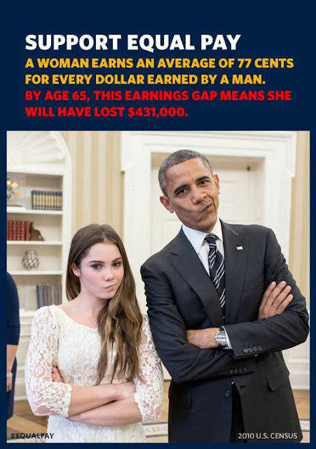 politics, Barack Obama, equal pay