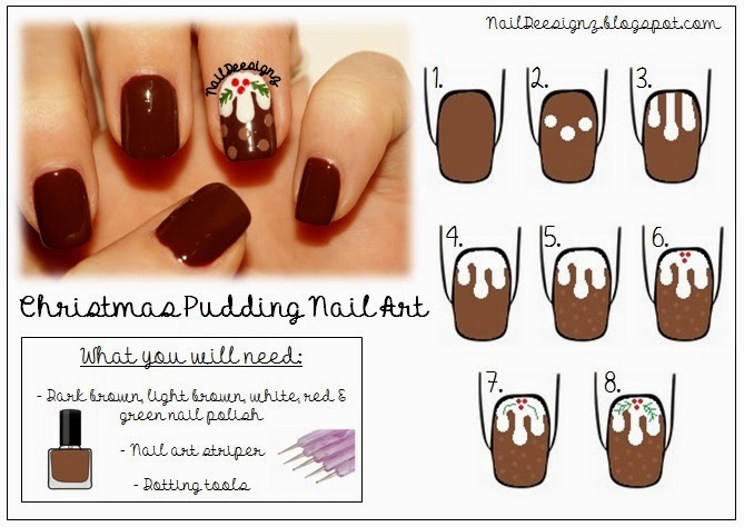 http://www.naildeesignz.blogspot.co.uk/2013/12/christmas-pudding-nail-art.html