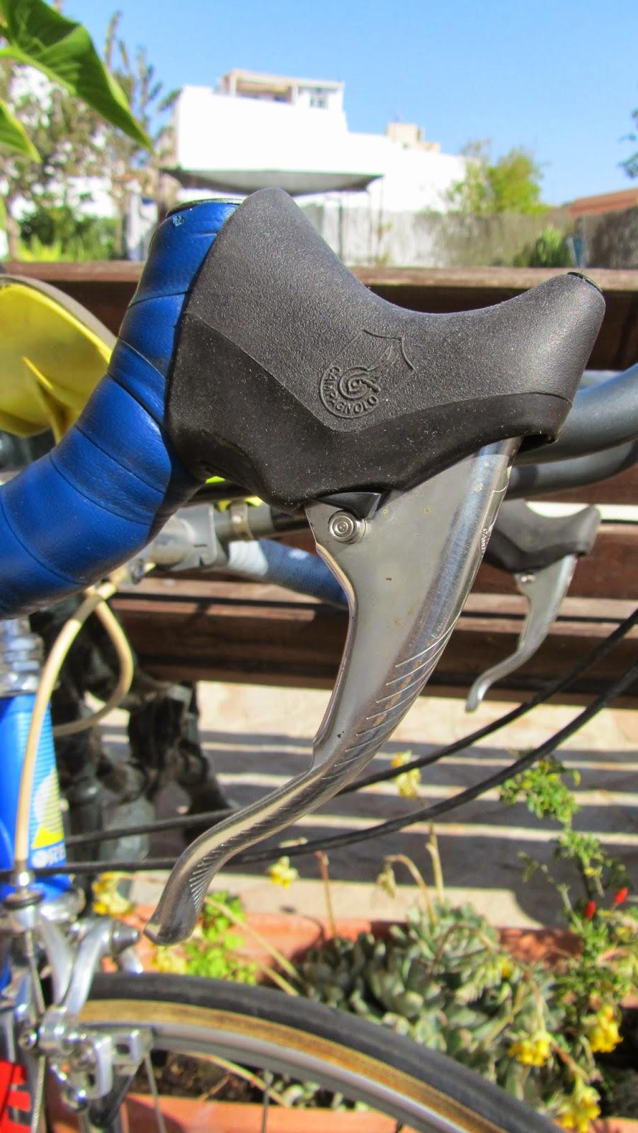escaladores campagnolo bicicleta orbea contrarreloj