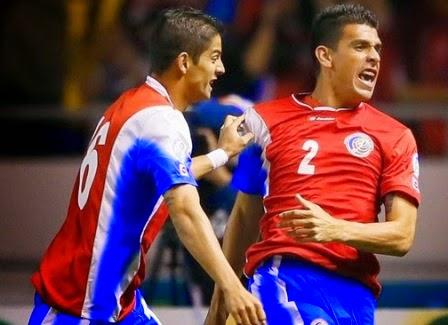 Kosta Rika vs Inggris