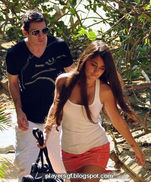 Lionel Messi And Antonella Roccuzzo 2012 Lionel Messi and his G...