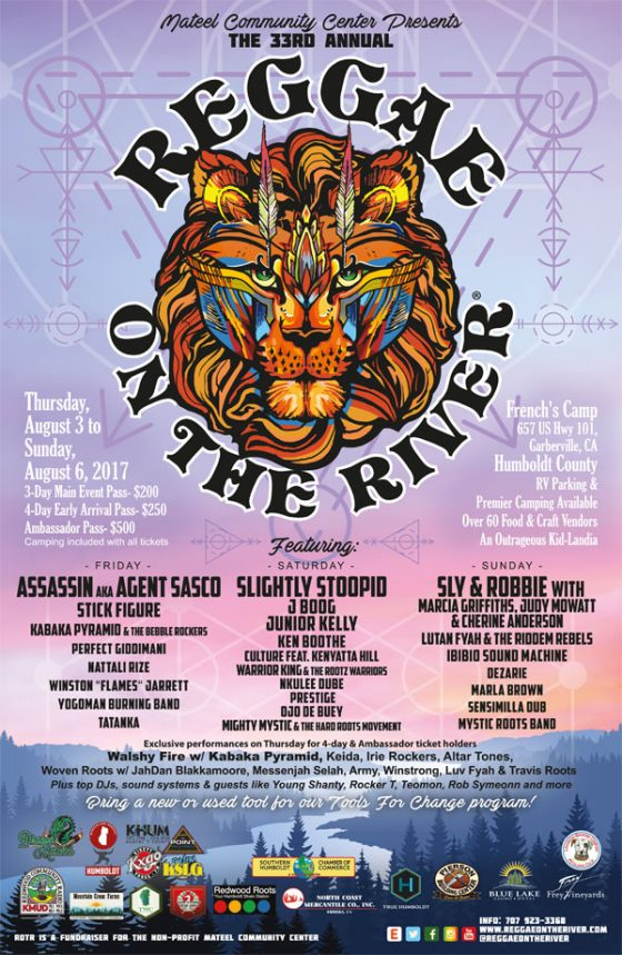 Reggae On The River 2017