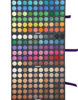 trusa farduri profesionale 180 culori