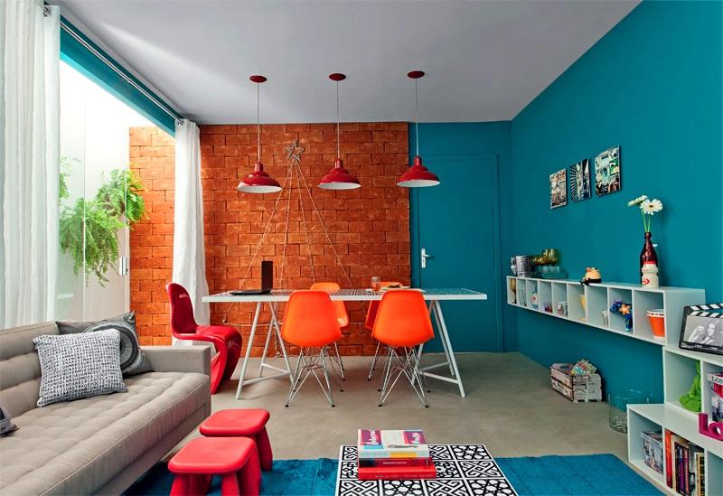 Sala De Estar E Jantar Cinza ~ com o mesmo padrão da mesa de centro Com essas cadeiras de design e