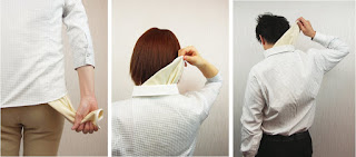 汗対策 サットル インナー 下着 シャツ すぐに外せる 簡単に脱げる