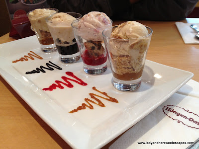 Haagen Dazs journey World
