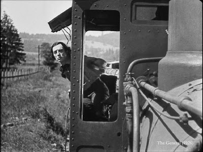 Buster Keaton train The General