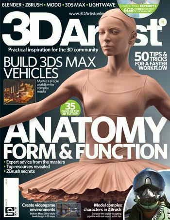 3D Artist Magazine Issue 71 August 2014